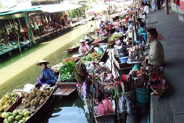 一隅多元@泰國水上市場