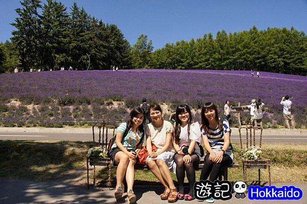 富良野FLOWER LAND花田08