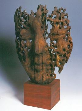張家駒 木雕