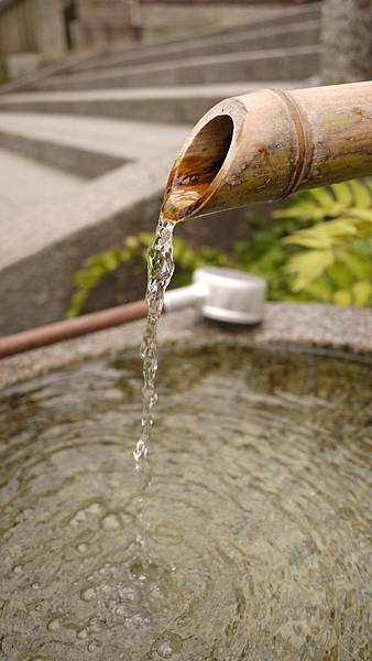 拍拍御手洗的水好了。