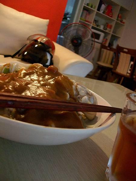 0605雞肉咖哩麵