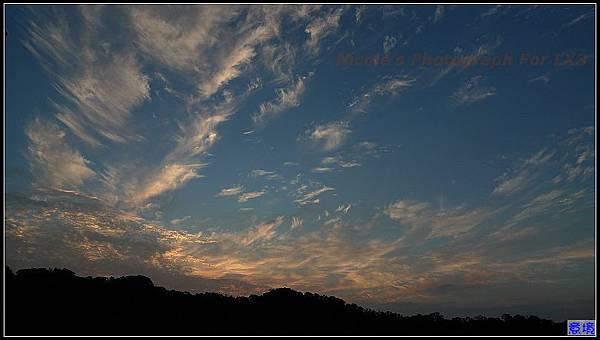 100.06.22 夕陽-因為颱風形成了.jpg