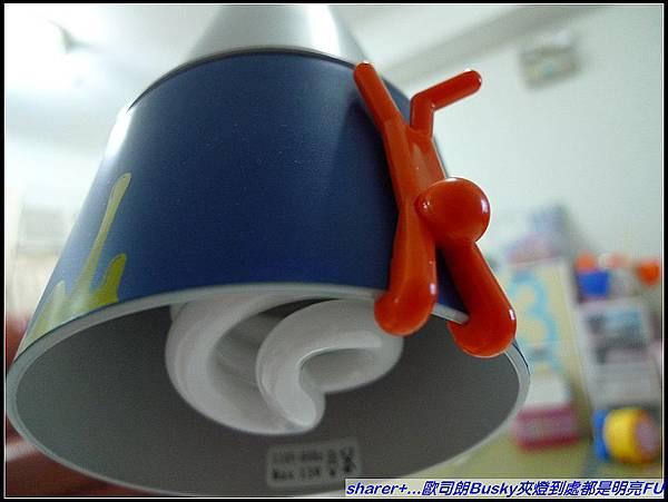 採用歐司朗13W迷你螺旋燈泡 還較ㄧ般普通燈泡可省電80%.jpg