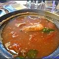 V 義大利蕃茄海鮮湯 130