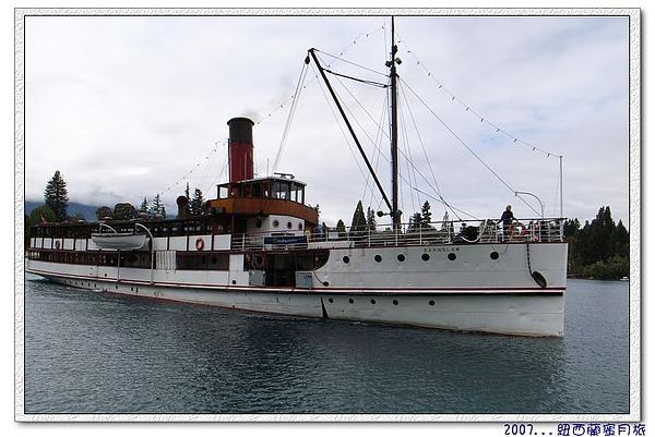 皇后鎮-蒸氣船恩斯洛號(TSS  Earnslaw)遊湖大船入港囉.jpg