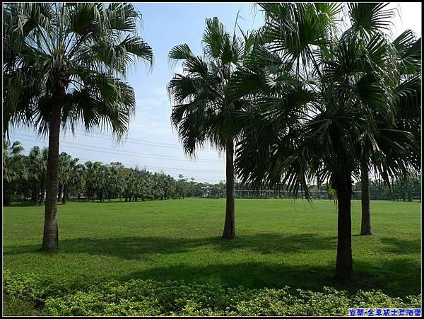 綠色的草坪.溫暖的陽光...真是舒服.jpg
