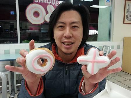 Krispy Cream-Valentine's day special