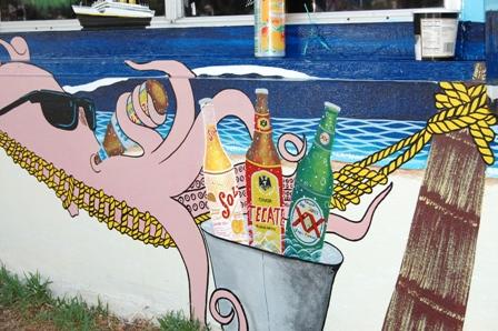 沒想到墨西哥的章魚喜歡喝酒