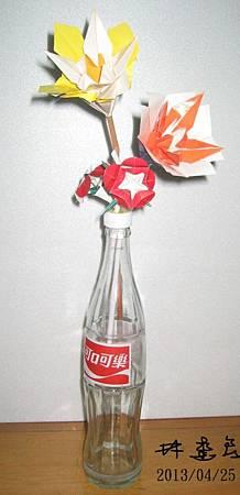 美化環境折紙花