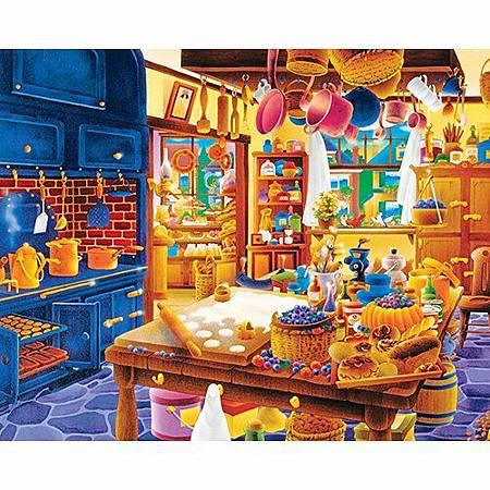 Baker's Kitchen 1000 Piece Puzzle by Springbok.jpg