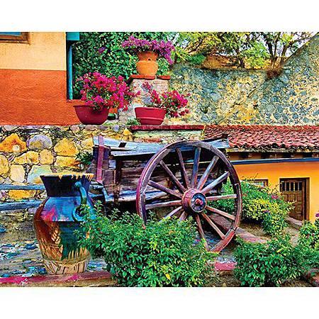 Colorful Courtyard 1000pcs by Springbok.jpg