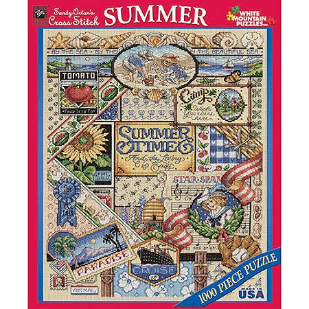 Summer Sampler 1000 Piece Puzzle by White Mountain.jpg