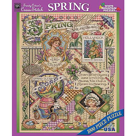 Spring Sampler 1000 Piece Puzzle  by White Mountain.jpg