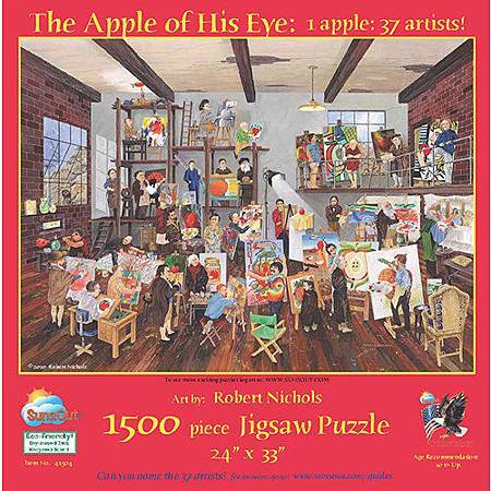 The Apple of His Eye 1500pcs by SunsOut.jpg