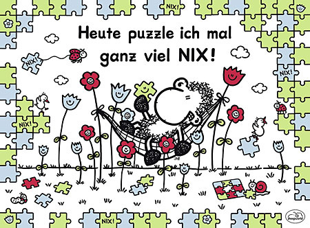 Heute puzzle ich mal ganz viel nix!.jpg
