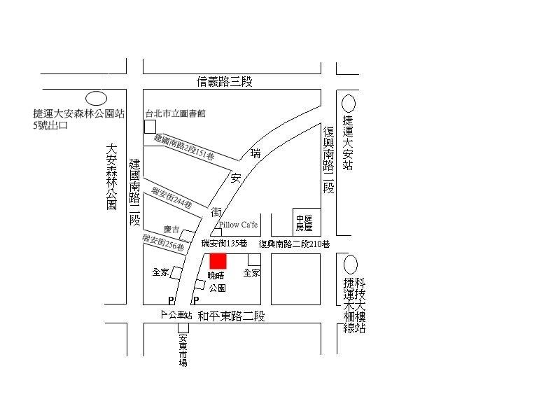 晚晴地圖(最新)