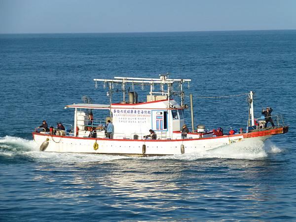 基隆碧砂漁港海釣船鎖管季夜釣小管