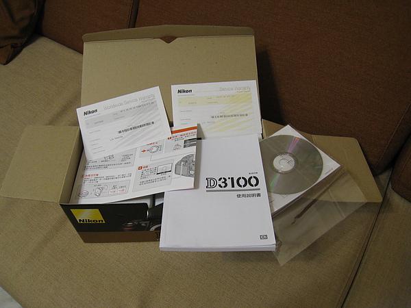 保證書、說明書、光碟