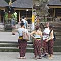 遊客穿戴漂亮沙龍
