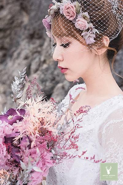 婚紗x皮草
