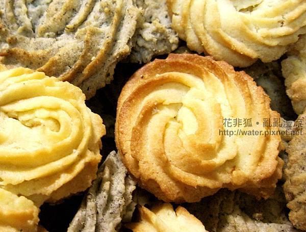 杏仁 黑芝麻 小圓餅