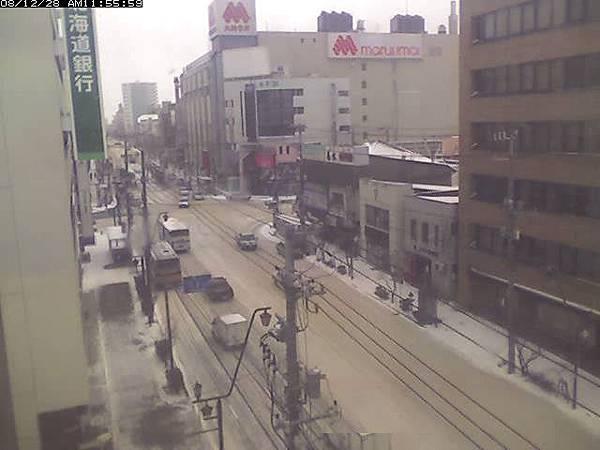 日本北海道 - 函館本町雪景