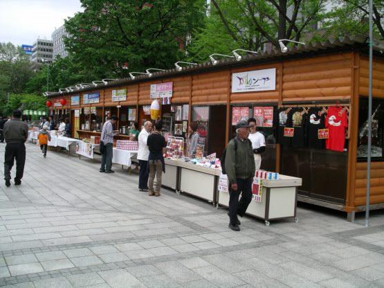66_大通公園攤位