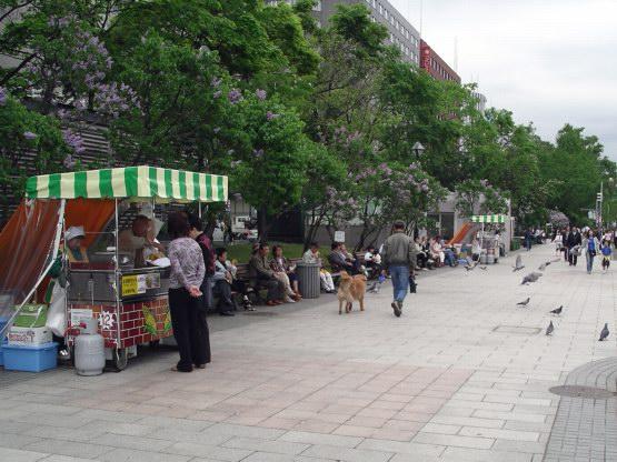 70_大通公園一角