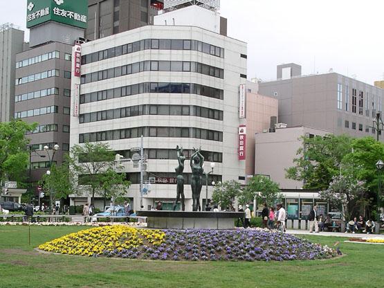 71_大通公園雕像