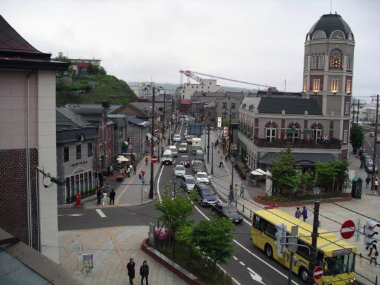85_小樽街景