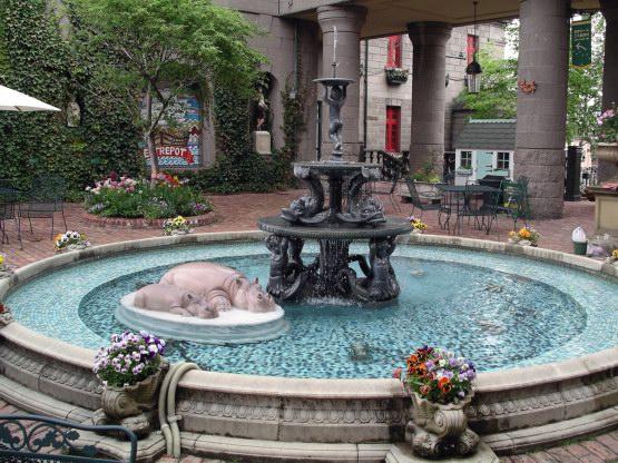 95_白色戀人館噴水池
