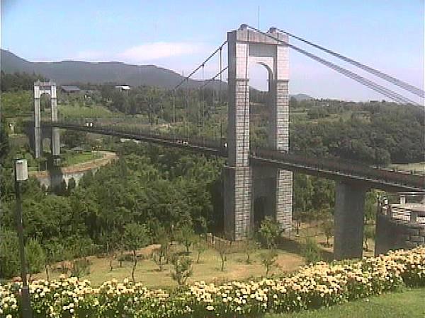 日本神奈川縣 - 風の吊り橋