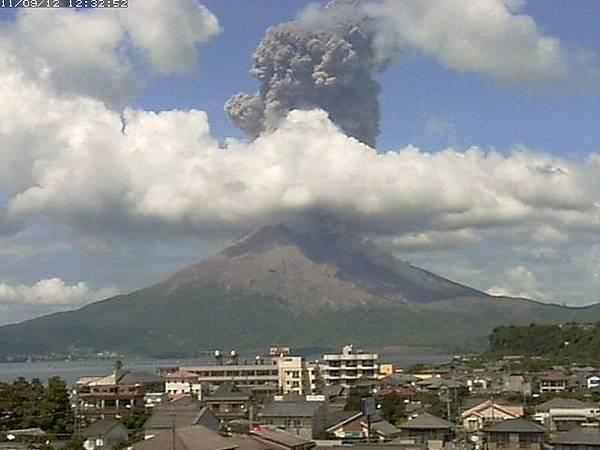日本鹿兒島縣 - 櫻島火山