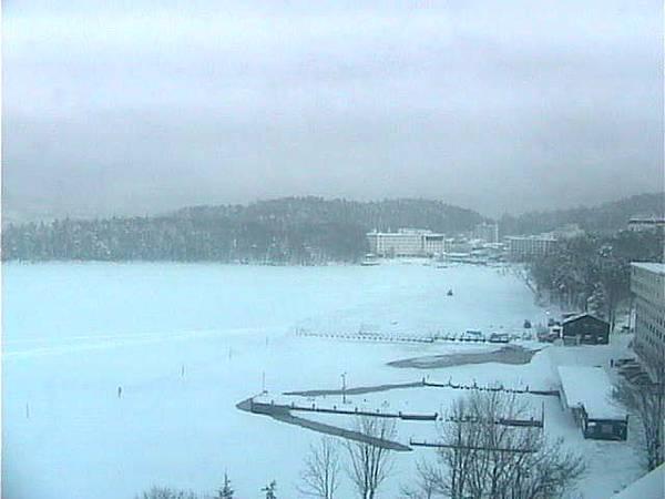 日本北海道 - 阿寒湖(冬天)
