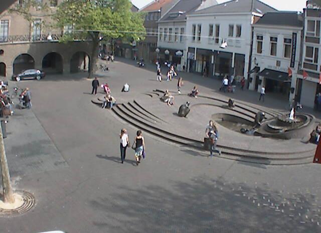 荷蘭恩斯赫德市政廳廣場