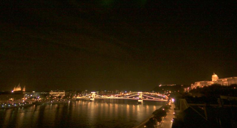 匈牙利布達佩斯 - 夜景