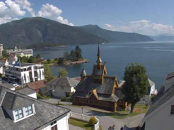 挪威小鎮 Balestrand