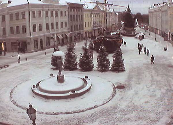 愛沙尼亞塔爾圖 - 市政廳前廣場