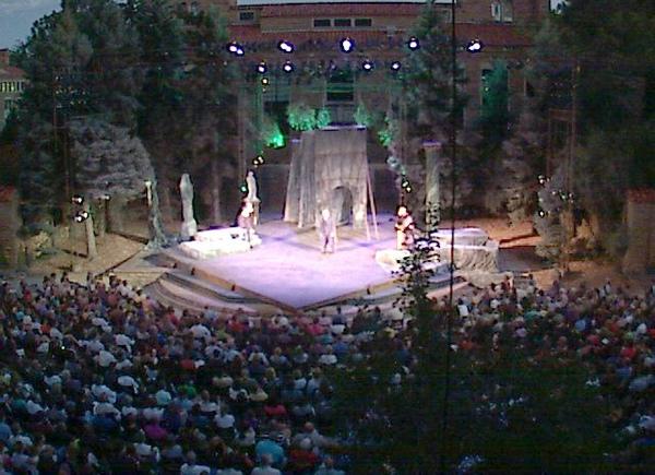 美國科羅拉多州 - Mary Rippon 戶外劇場(表演中)