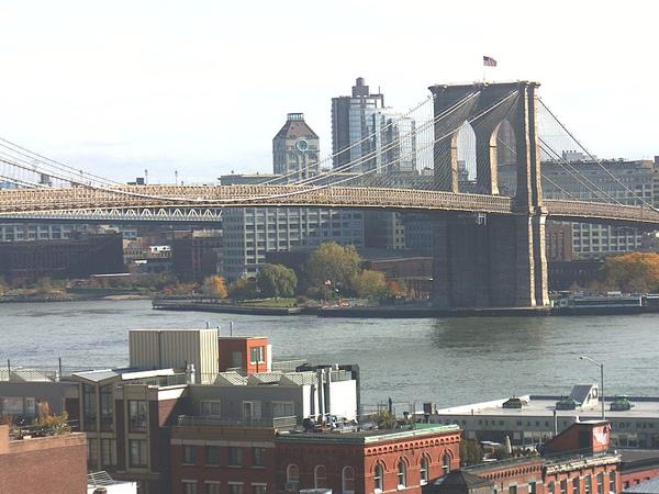 美國紐約州 - 布魯克林大橋