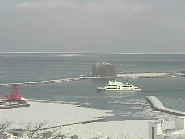 日本北海道 - 帽子岩