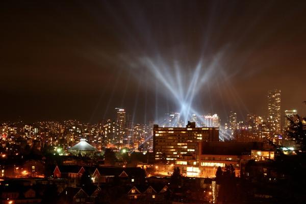 溫哥華燈光秀
