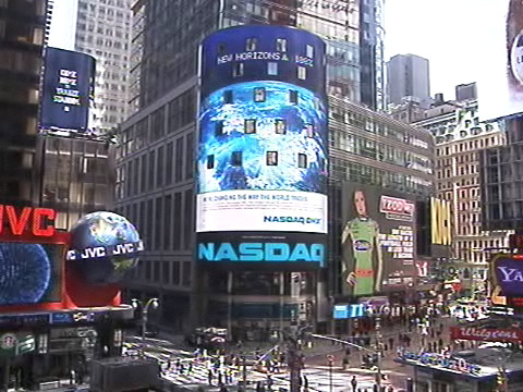 美國紐約州 - 時報廣場 NASDAQ