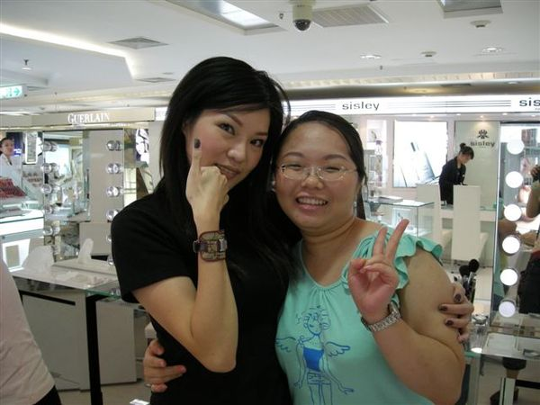 2007年8月Dior彩妝-我與彩妝師