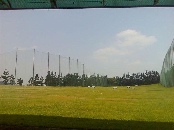 台北球場的練習場