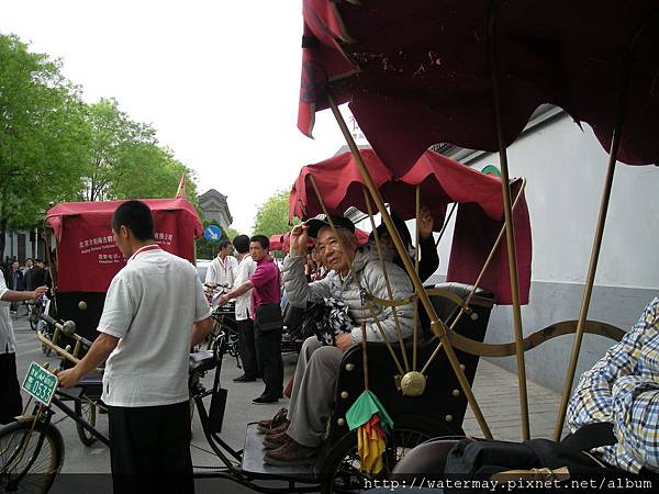北京三輪車遊胡同