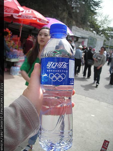 北京的礦泉水-背面