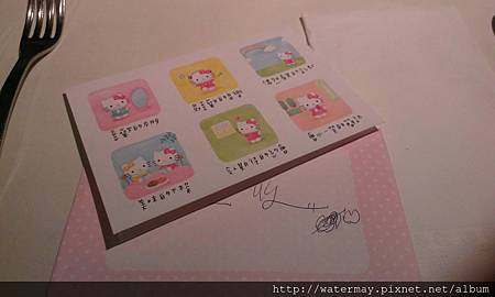 Hello Kitty生日卡