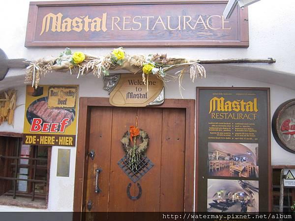 Day4-02捷克-地窖牛排餐廳(Restaurace Maštal - Český Krumlov)