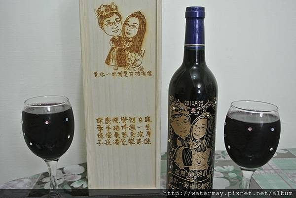 酒瓶雕刻、酒杯雕刻、木盒雕刻